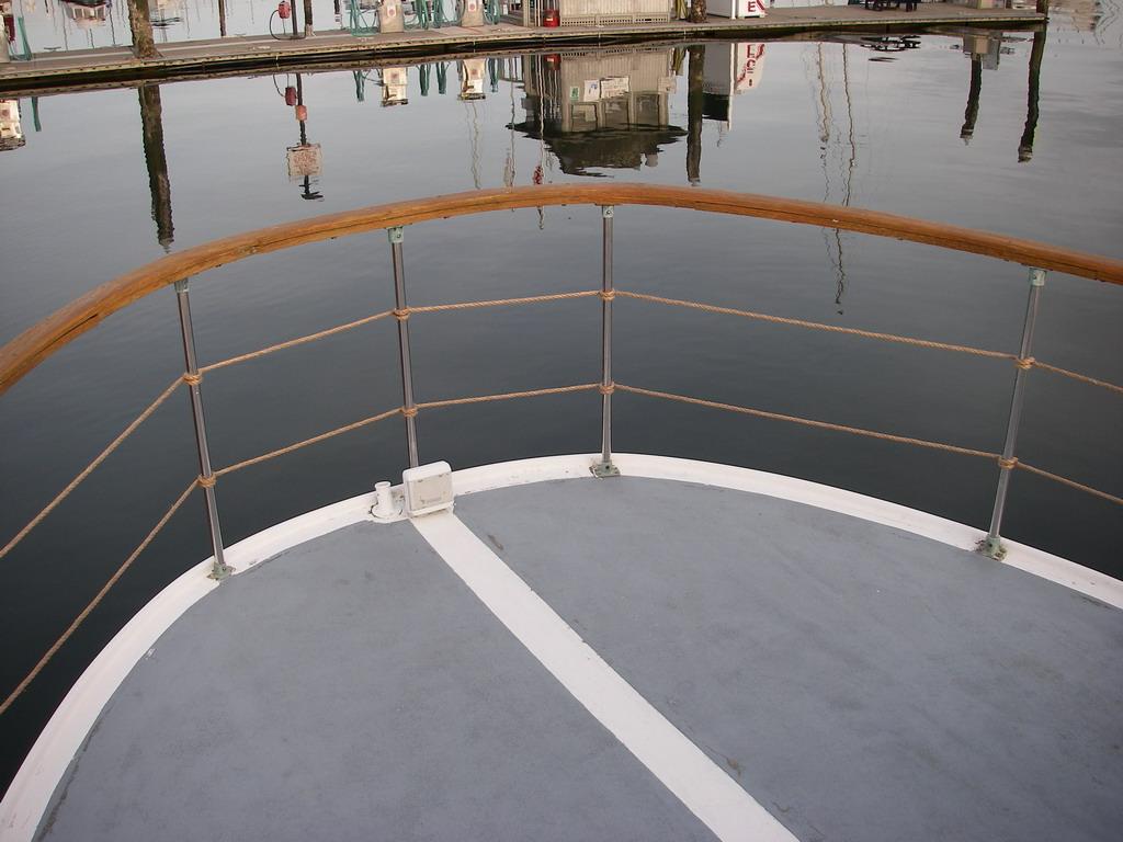 Quasar- Boat deck rails