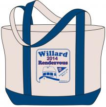 Commemorative bag, 2014 rendezvous