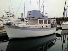 Toby - new hull paint 2012