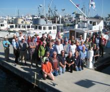 The crowd at Rendezvous 2013, Anacortes