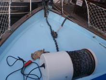 Nuala May Electric winch, 300ft rode