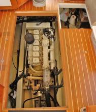 Adria engine room