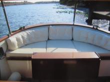 Island Seeker fantail seating