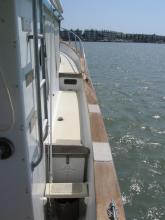 Island Seeker side deck
